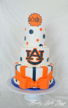 OMG we love this Auburn Cake!