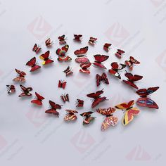 Wenzhou FOB Craft Gift Co. Crystal Wall, Wall Stickers Home Decor, 3d Wall, Craft Gifts, Butterfly, Crystals, Wall Decorations, Diy, Crafts