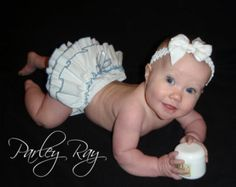 A Beautiful Parley Ray Custom Boutique Ruffled Baby by ParleyRay