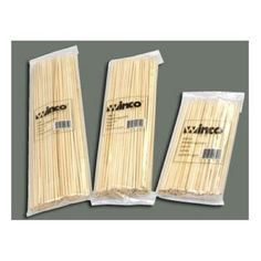 Winco Bamboo Skewer, 10 inch by Winco. $3.98. 12. Winco Bamboo Skewer, 10 inch -- 30 per case.