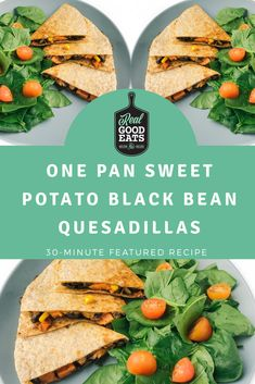 This vegetarian quesadilla recipe is easy to make and ready in 30 minutes. It's loaded with flavour and plant-based ingredients, perfect for meatless monday! Vegetarian Quesadilla, Vegetarian Pasta Recipes, Vegan Recipes, Healthy Weeknight Dinners, Healthy Pastas, Quick Dinner Recipes, Quick Easy Meals, Lunch Meal Prep, Food Reviews