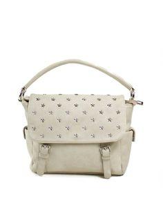 Τσάντα χειρός stars - Λευκό 35,99 € Shoulder Bag, Handbags, Fashion, Moda, Totes, Fashion Styles, Shoulder Bags, Purse, Hand Bags