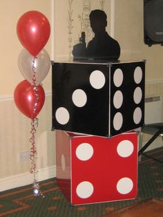 1000 images about james bond casino themed party on for Decoration 007