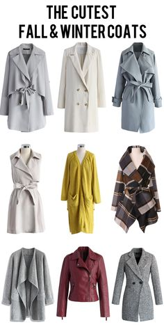 The cutest fall and winter coats for women