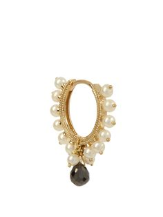 MARIA TASH   Diamond, pearl & yellow-gold earring  руб43,345 / €629