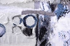 Shelley Rhodes | Textile Study Group Textile Fiber Art, Textile Artists, Textiles, Stitch Patch, Denim Art, Contemporary Embroidery, Pin Art, Sketchbook Inspiration, Fabric Manipulation