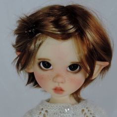 Fireflies*and Blossoms BJD Faceups by Charlene Smith