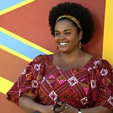 Jill Scott as Mma Precious Ramotswe is one of my beauty and style heroines! i love that she is fat and radiant and healthy and elegant. i love her bright, floral dresses and cute little rubber soled shoes, and she always rocks beautiful earrings and has such a gorgeous smile! :)