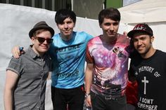 Dan & Phil have become so good friends with Patrick and Pete and it makes me so happy tbh