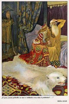 Artuš Scheiner, illustration for Tales from Shakespeare, 1923