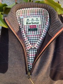 Barbour Sporting Shirt and a Beretta Sweater