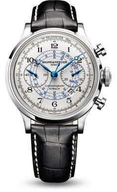 Capeland 10006 automatic chronograph by Baume et Mercier.