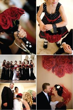 poka dot brides made dresses