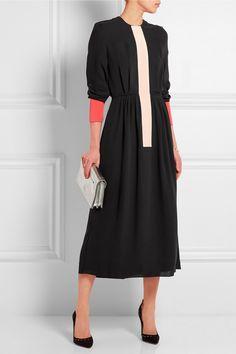 Roksanda Alder color-block silk-blend dress NET-A-PORTER.COM