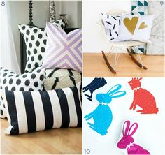 Roundup: 10 Awesome DIY Pillow Projects