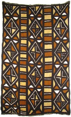Mud cloth from Mali