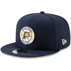 new style 4f857 0963e Men s Indiana Pacers New Era Navy 2018 Tip-Off Series Team 9FIFTY  Adjustable Hat