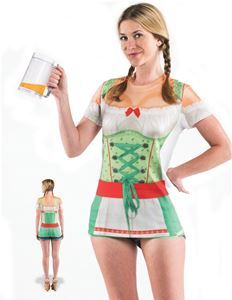 Oktoberfest Adult Womens T-Shirt Dress - 330731 | Via Halloween Club # oktoberfest #  sc 1 st  Pinterest & 42 best Oktoberfest Costumes images on Pinterest | Halloween club ...