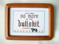 10+ Times Cross Stitches Were So Badass, They Were Perfect For 21st Century