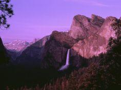 Bridal Veil Falls at Dusk