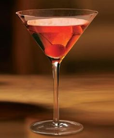 Caribbean Manhattan Recipe - Carnival Cruise Lines ... I had this at the Alchemy Bar and it's easily my new favorite cocktail!