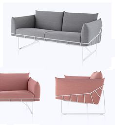 Picnic Sofa, by Industrial Facility