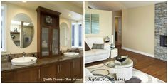 The Best Benjamin Moore Neutral Colours - Cream, Brown, Off-white - Kylie M Interiors