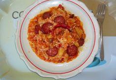 20 laktató egytálétel 1 órán belül | NOSALTY Rice Recipes, Paella, Macaroni And Cheese, Chili, French Toast, Bacon, Cooking, Breakfast, Rice