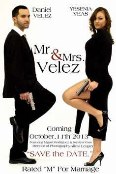 Mr. and Mrs. Smith save the date #wedding #funny  Check out www.planningyourweddingforless.com