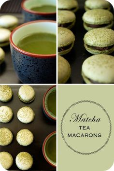 Matcha Tea Macarons! #FirsdTea tried #Matcha Macarons in NYC and fell in love with them! Delicious!