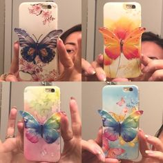iPhone 6 / 6S / 6Plus cover butterfly 3D Beautifull cover in silicone , 4 different color like in the 4 Photo . The wings come little out from the phone. Silicon not hard plastic. I have the same for iPhone 6 Olus . Comment wirh wich One ypu like To have and for What model and i will make a new list for You . Thank you and happy shopping ! Accessories Phone Cases