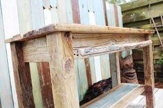 fabriquez un îlot de cuisine en bois de récupération