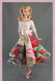 BOTANICAL LACE Fashion for Poppy, Silkstone, FR2 and Victoire Dolls