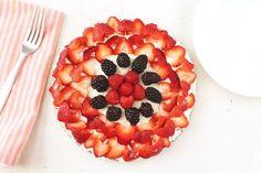No Bake Fruit Tart (Sugar-Free, Vegan, Gluten-Free & Paleo) - Healy Eats Real