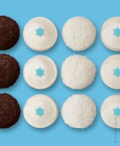 Hanukkah box of #Cupcakes from Sprinkles