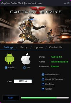 Captain Strike Hack Tool Unlimited Cash Cheat Android/iOS  http://burnhack.com/captain-strike-hack-tool-unlimited-cash-cheat-androidios/