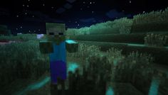 Minecraft zombie roaming through the dark! Zombie Apocalypse, Creepers, Best Games, Funny Cute, Zombies, The Darkest, Nerdy, Minecraft, Video Games