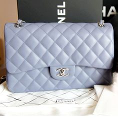 ♥ Chanel ♥ I would get this purse in every color they have.