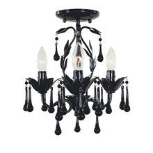 View the World Imports WI4053 Crystal 3 Light Mini Chandelier from the Bijoux Collection at LightingDirect.com. $178