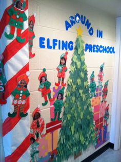"The kids are really enjoying seeing themselves ""Elfed""."