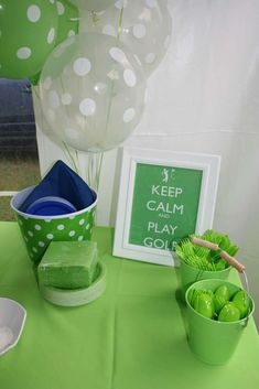 Golf Birthday Par-Tee | CatchMyParty.com