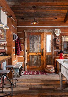 Love the door...MLH 015 : Montana Log Homes