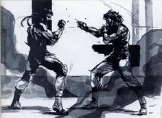 Metal Gear Solid | Solid vs Liquid
