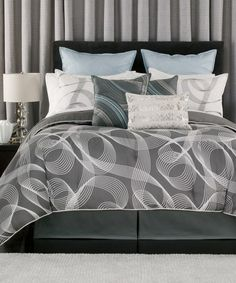 Loving this Downing Street Comforter Set on #zulily! #zulilyfinds