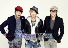 Gongchan, Baro, CNU, B1A4, Hats On....bias,bias and bias. I can't choose >.<
