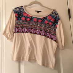 Urban Outfitters Crop Top really cute, lightweight crop top good for a summer day or ever as a bathing suit coverup! worn once. Tops Crop Tops