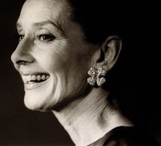 Aging Gracefully. Audrey Hepburn.