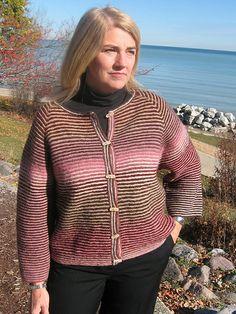 Kauni Effektgarn Beverly Cardigan Knitting Pattern