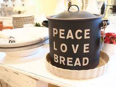 Kaunis leipälaatikko