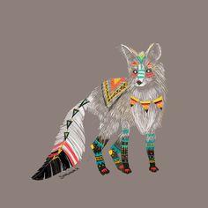Fox Animal Spirit Widescreen 2 HD Wallpapers